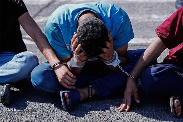 دستگیری سارقان سابقهدار,اخبار حوادث,خبرهای حوادث,جرم و جنایت