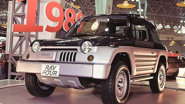 تویوتا راو فور 1989,اخبار خودرو,خبرهای خودرو,مقایسه خودرو
