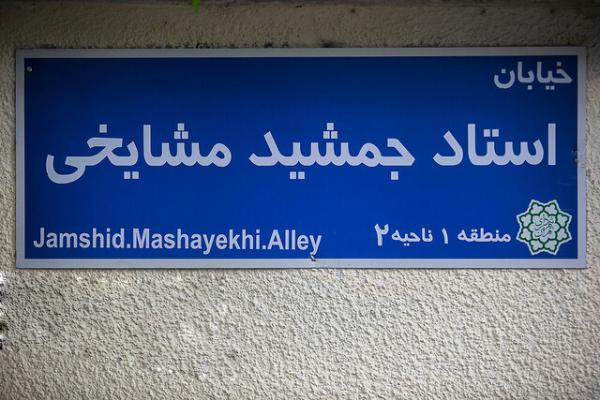 خیابان استاد جمشید مشایخی,اخبار اجتماعی,خبرهای اجتماعی,شهر و روستا
