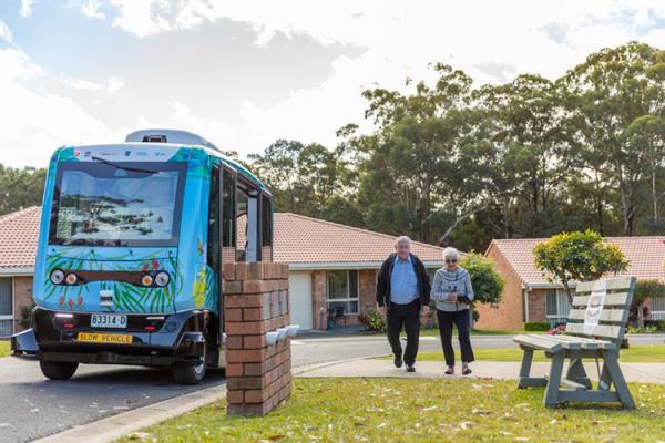 اتوبوس خودران EZ10,اخبار خودرو,خبرهای خودرو,وسایل نقلیه