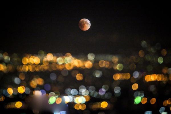 ماه گرفتگی,اخبار علمی,خبرهای علمی,نجوم و فضا