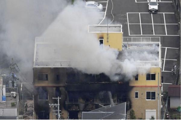 , آتش سوزی در استودیوی فیلمسازی در ژاپن/ 23 کشته و 36 مصدوم, آخرین اخبار ایران و جهان و فید های خبری روز