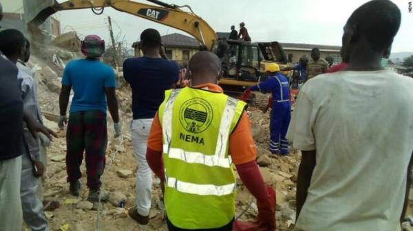 ریزش ساختمان در نیجریه,اخبار حوادث,خبرهای حوادث,حوادث امروز