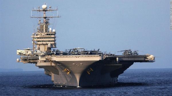 ناو هواپیمابر آمریکا در خلیج فارس,اخبار سیاسی,خبرهای سیاسی,دفاع و امنیت