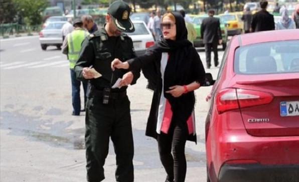 کشف حجاب در خودرو,اخبار اجتماعی,خبرهای اجتماعی,آسیب های اجتماعی