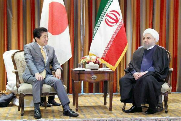 شینزو آبه و حسن روحانی,اخبار سیاسی,خبرهای سیاسی,سیاست خارجی