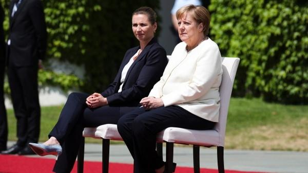 مراسم استقبال مرکل از نخستوزیر دانمارک,اخبار سیاسی,خبرهای سیاسی,اخبار بین الملل