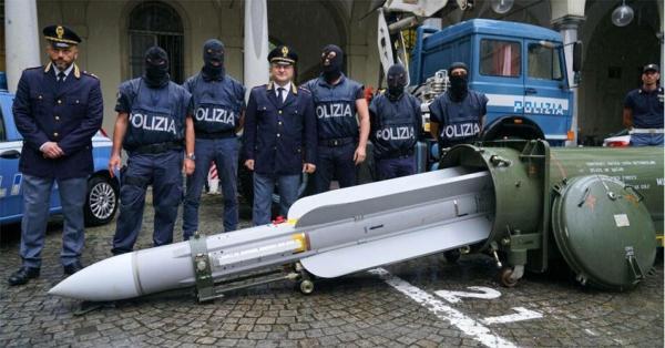 کشف موشک در ایتالیا,اخبار فوتبال,خبرهای فوتبال,حواشی فوتبال
