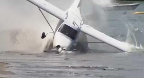 سقوط هواپیما شناور در کانادا,اخبار حوادث,خبرهای حوادث,حوادث