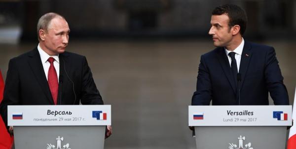 پوتین و ماکرون,اخبار سیاسی,خبرهای سیاسی,سیاست خارجی