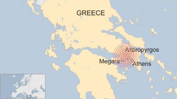 زلزله در یونان,اخبار حوادث,خبرهای حوادث,حوادث طبیعی