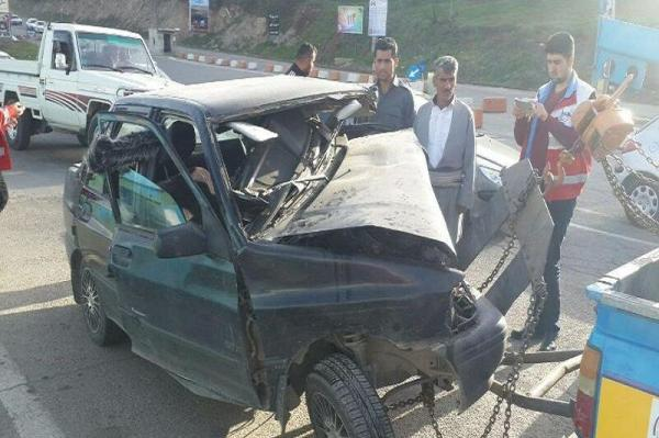 حادثه رانندگی در بوکان,اخبار حوادث,خبرهای حوادث,حوادث