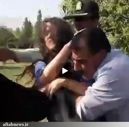 درگیری نیروی انتظامی با یک دختر جوان در تهرانپارس,اخبار اجتماعی,خبرهای اجتماعی,حقوقی انتظامی