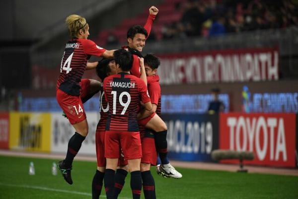 صعود دشوار کاشیما به مرحله بعدی لیگ قهرمانان آسیا