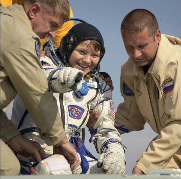 بازگشت ۳ فضانورد به زمین,اخبار علمی,خبرهای علمی,نجوم و فضا