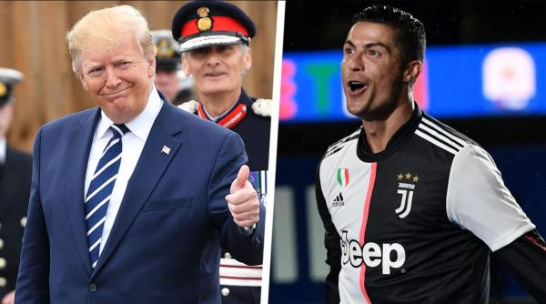 کریستیانو رونالدو و دونالد ترامپ,اخبار فوتبال,خبرهای فوتبال,اخبار فوتبالیست ها