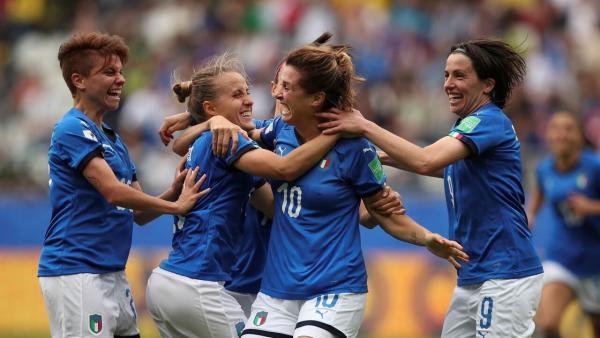 تیم ملی فوتبال بانوان ایتالیا,اخبار ورزشی,خبرهای ورزشی,ورزش بانوان