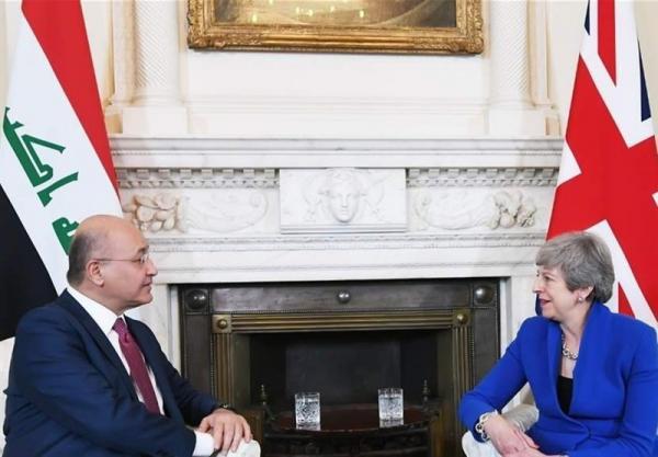 دیدار رئیسجمهور عراق با نخستوزیر انگلیس,اخبار سیاسی,خبرهای سیاسی,خاورمیانه