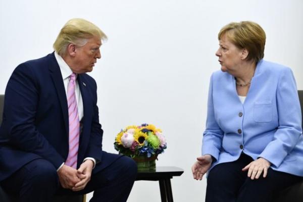 آنگلا مرکل و ترامپ,اخبار سیاسی,خبرهای سیاسی,سیاست خارجی