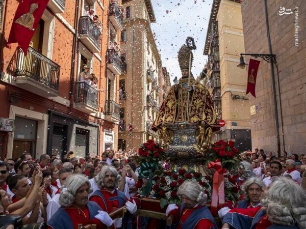 جشنواره سنفرمین ایالت نابارای اسپانیا,اخبار جالب,خبرهای جالب,خواندنی ها و دیدنی ها