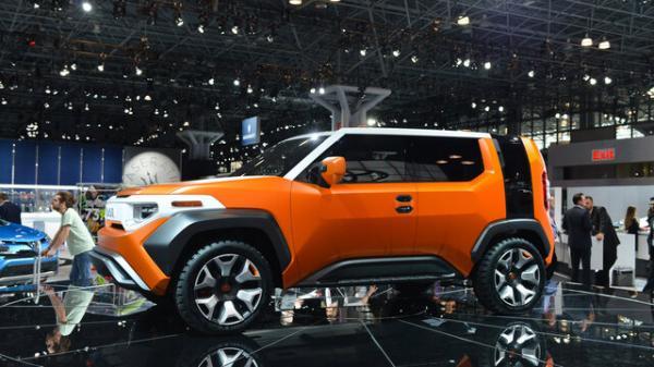 خودروی شاسی بلند جدید تویوتاموتورز,اخبار خودرو,خبرهای خودرو,مقایسه خودرو