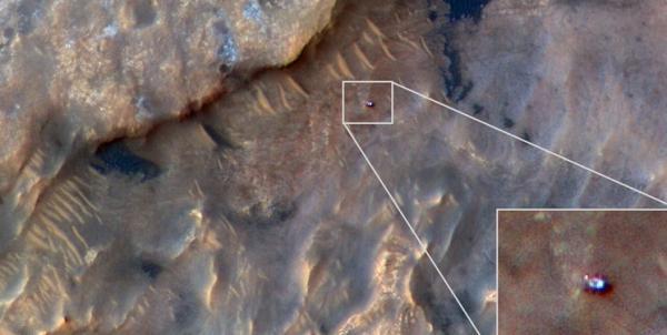 تصاویر تهیه شده توسط مریخنورد کنجکاوی ناسا,اخبار علمی,خبرهای علمی,نجوم و فضا