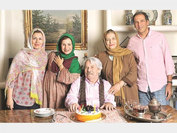 خانواده داود رشیدی,اخبار هنرمندان,خبرهای هنرمندان,اخبار بازیگران