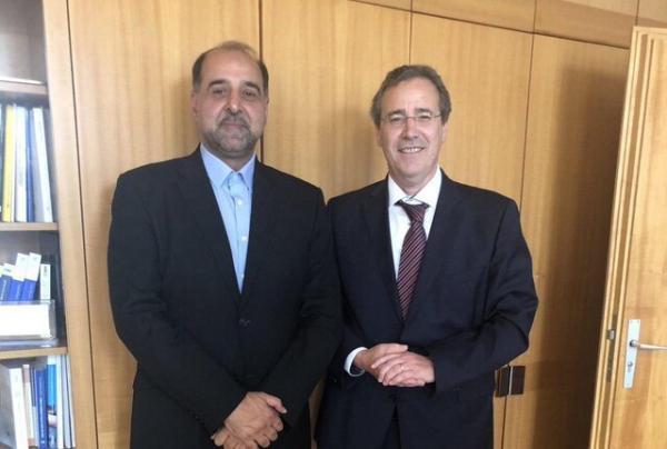 دیدار ماگوئل برگر و محمود فرازنده,اخبار سیاسی,خبرهای سیاسی,سیاست خارجی