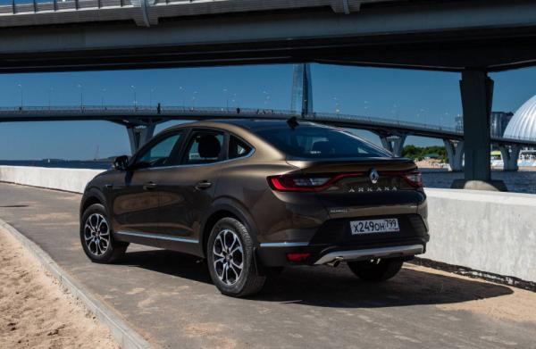 جدیدترین مدل رنو آرکانا,اخبار خودرو,خبرهای خودرو,مقایسه خودرو