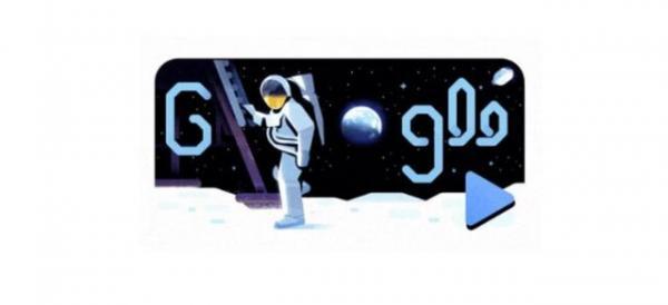 تغییر لوگوی گوگل به مناسبت سالگرد سفر انسان به ماه,اخبار علمی,خبرهای علمی,نجوم و فضا
