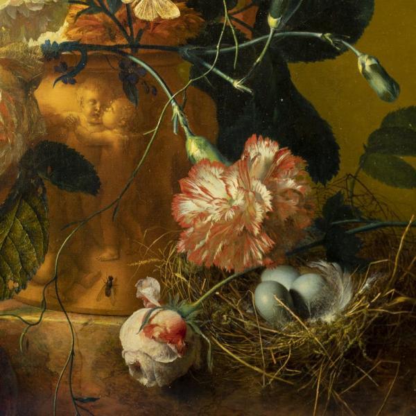 مراسم بازگشت نقاشی گلدان گل هایسوم به موزه فلورانس,اخبار هنرهای تجسمی,خبرهای هنرهای تجسمی,هنرهای تجسمی
