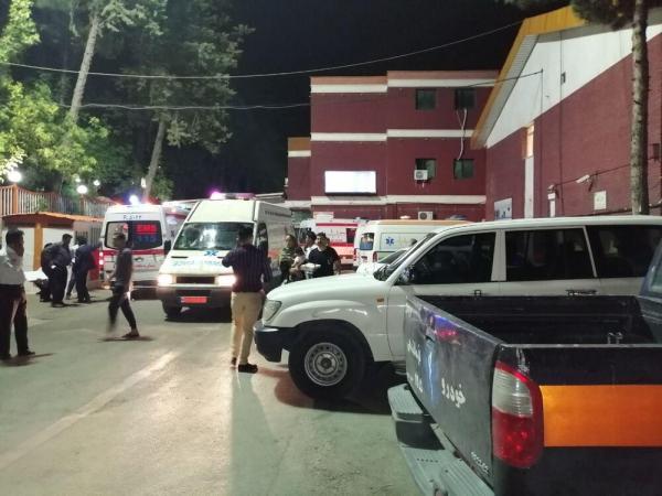 وضعیت آسیب دیدگان عراقی حادثه واژگونی اتوبوس در خرم آباد,اخبار حوادث,خبرهای حوادث,حوادث