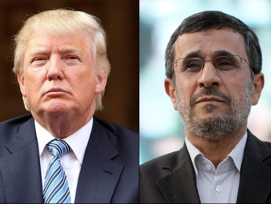 احمدی نژاد و ترامپ,اخبار سیاسی,خبرهای سیاسی,سیاست خارجی