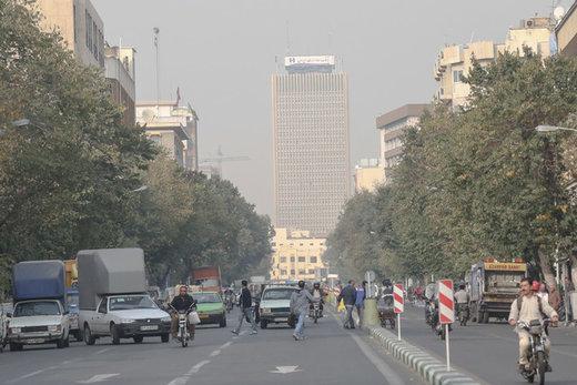 افزایش غلظت آلاینده اُزن در هوای پایتخت,اخبار علمی,خبرهای علمی,طبیعت و محیط زیست