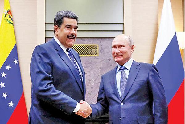 دیدار پوتین و مادورو,اخبار سیاسی,خبرهای سیاسی,اخبار بین الملل