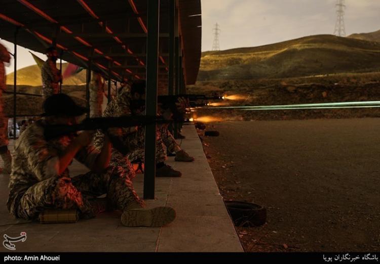 تصاویر مسابقه تیراندازی یگان ویژه فاتحین,عکس های تمرینات تیراندازی یگان ویژه فاتحین,تصاویر یگان ویژه فاتحین