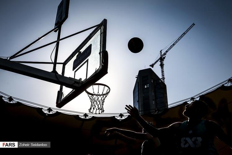 تصاویر مسابقات بسکتبال سه نفره در تهران,تصاویر مسابقات بسکتبال سه نفره آقایان,عکس های رقابت بسکتبال سه نفره در پارک آب و آتش تهران