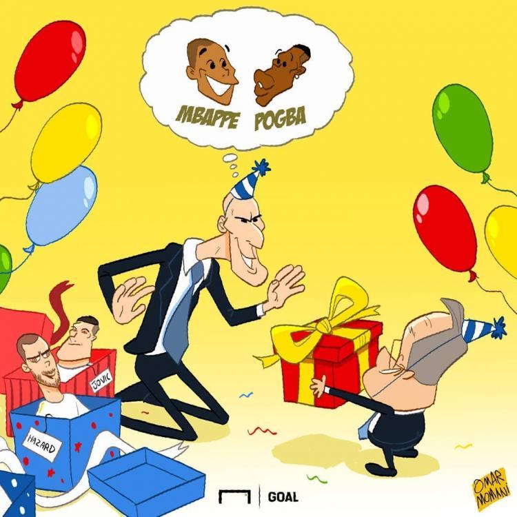 کارتون تولد زین الدین زیدان,کاریکاتور,عکس کاریکاتور,کاریکاتور هنرمندان