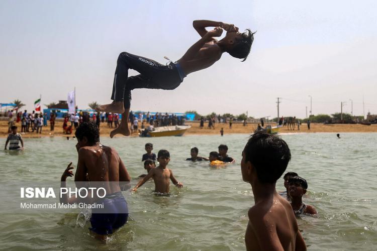 تصاویر نوروز صیاد قشم,عکس های جشن در قشم,تصاویر جزیره قشم