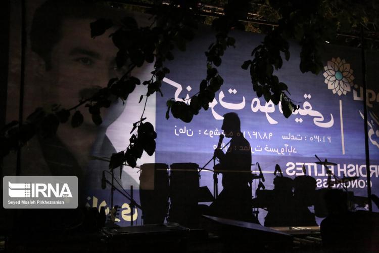 تصاویر کنسرت موسیقی بیژن کامکار,تصاویر نخستین کنسرت موسیقی کردی,تصاویر کنسرت بیژن کامکار در سنندج