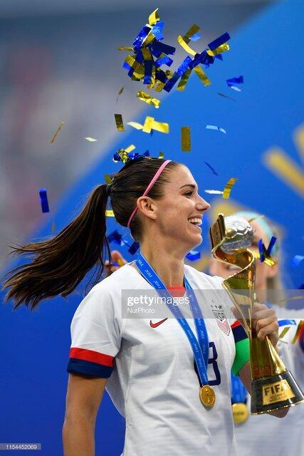 تصاویر فینال جام جهانی فوتبال ۲۰۱۹ زنان,تصاویر بازی آمریکا و هلند در جام جهانی فوتبال زنان,تصاویر قهرمانی آمریکا در جام جهانی زنان 2019