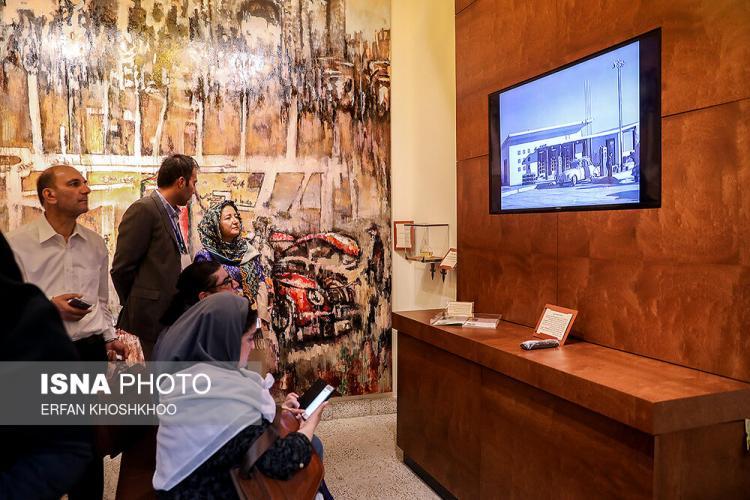 عکس های موزه پمپ بنزین,تصاویری از مراسم افتتاح موزه پمپ بنزین,عکس های موزه پمپ بنزین دروازه دولت تهران