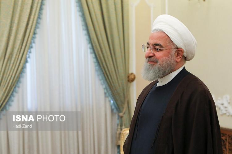 تصاویر دیدار حسن روحانی با گابریلا کوئواس بارون,عکس های رییس جمهور ایران,تصاویر رییس اتحادیه بینالمجالس جهانی در ایران