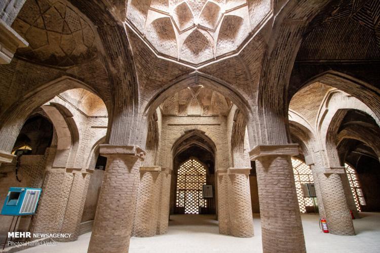 تصاویر مسجد جامع اصفهان,عکس های مسجد جامع اصفهان,تصاویر برجستهترین آثار معماری ایران
