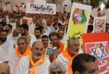 شعار سیاسی در مراسم حج,اخبار مذهبی,خبرهای مذهبی,حج و زیارت