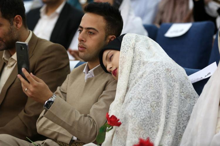 تصاویر جشن ازدواج دانشجویی دانشگاه کردستان,عکس های بیست و دومین جشن ازدواج دانشجویی دانشگاه کردستان,تصاویر مراسم ازدواج دانشجویی در کردستان