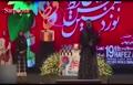 فیلم/ تشکر گلاب آدینه از مهدی هاشمی در جشن حافظ