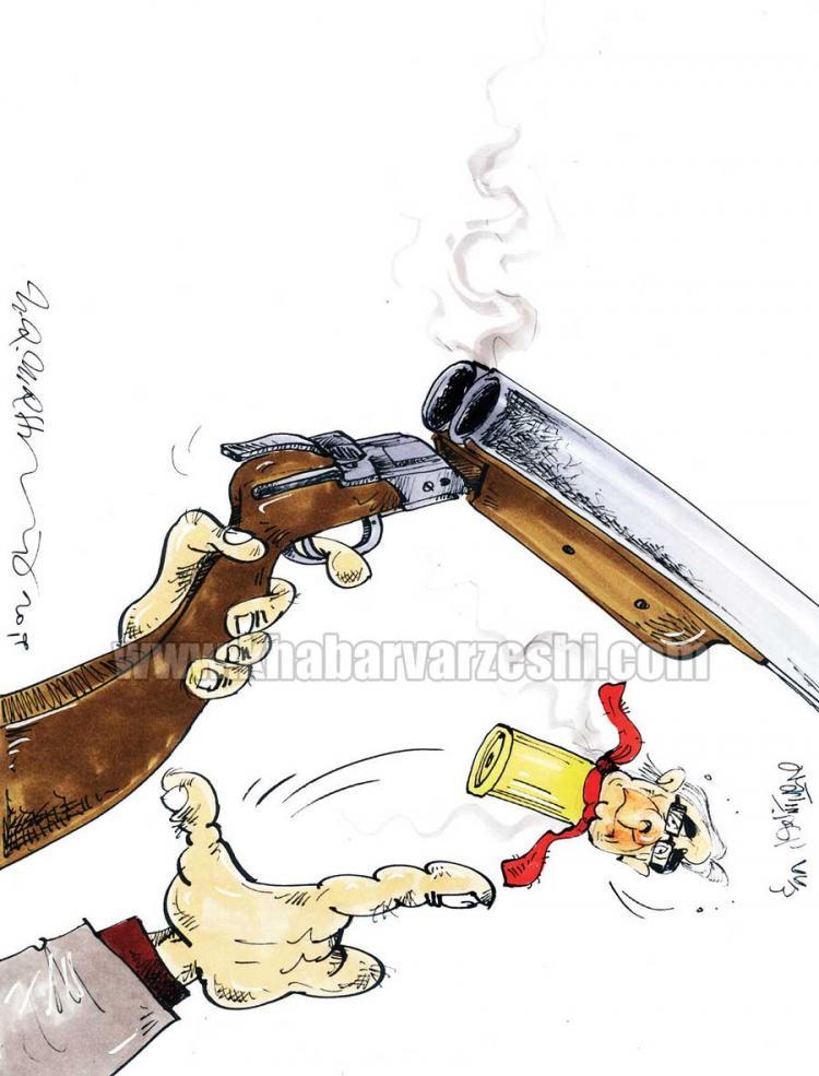کاریکاتور گلایه های برانکو از تیم پرسپولیس,کاریکاتور,عکس کاریکاتور,کاریکاتور ورزشی