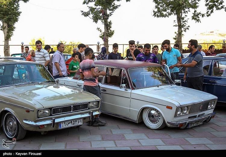 تصاویر همایش خودروهای کلاسیک در سنندج,عکس های همایش خودروهای کلاسیک,تصاویر همایش خودروهای کلاسیک