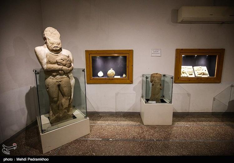 تصاویر موزه شوش,عکس های دیدنی از موزه های تاریخی,تصاویر مهمترین موزه های ایران